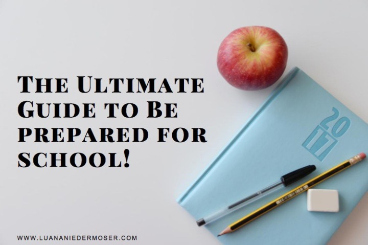 The Ultimate Guide To Be Prepared for school! | BACK TO SCHOOL #3