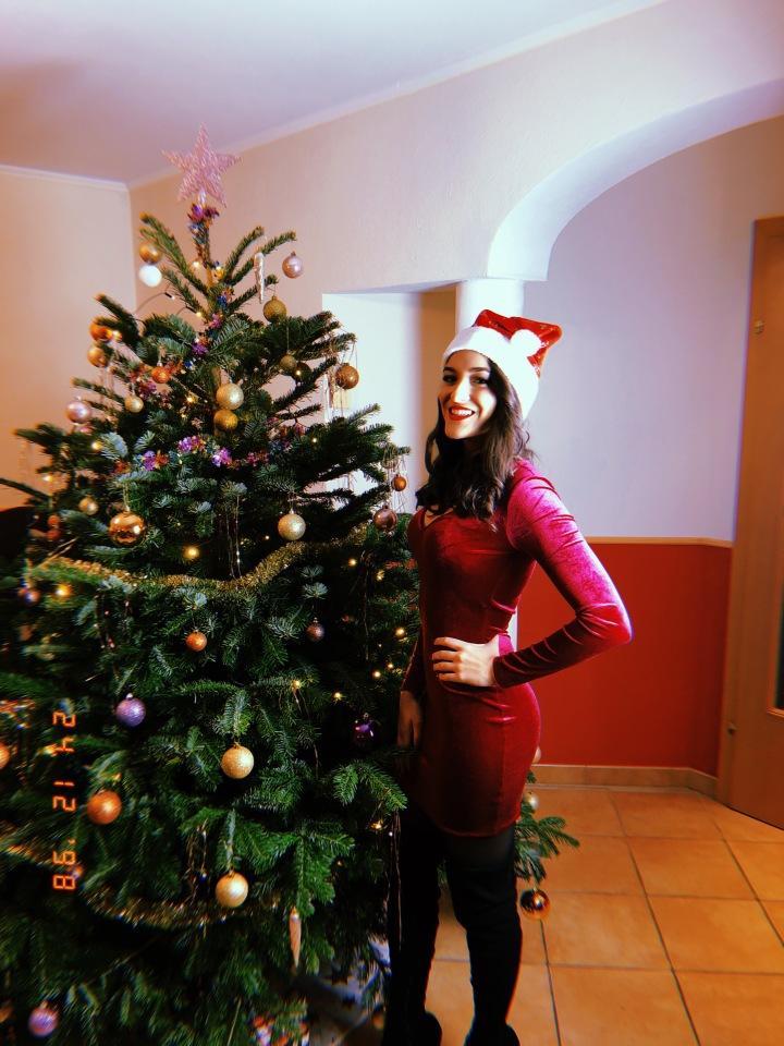 Weihnachtslook